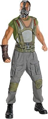 ösewicht Dc Dunkler Ritter Halloween Kostüm Kleid Outfit (Bane Batman Halloween-kostüm)