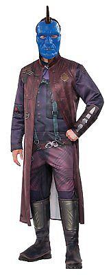 Yondu Guardians Galaxy 2 Marvel Fancy Dress Up Halloween Deluxe Adult - Yondu Kostüm