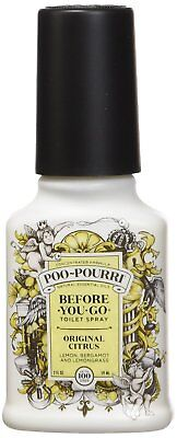 Poo-Pourri Before-You-Go Toilet Spray 2-Ounce Bottle, Original Citrus Scent