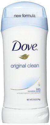 Dove Antiperspirant Deodorant Original Clean 2.6 oz