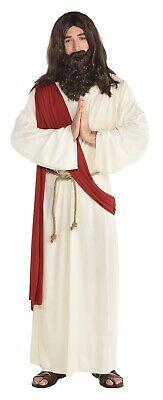 Herren Jesus Religiös Junggesellenabschied Weihnachten Kostüm Std-Plus Größe