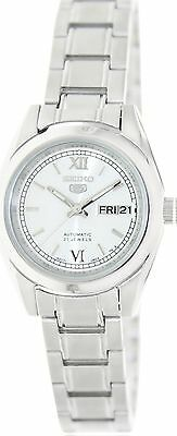 Seiko Women's 5 Automatic SYMK23K1 Silver Stainless-Steel Automatic Watch