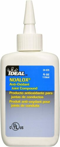 Ideal 30-026 Noalox Anti-oxidant Compound (4 Oz. Bottle)