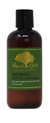 Unrefined Moringa Oil Pure Organic Best Quality All Natural Skin Care