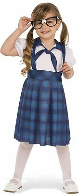 Nerd Girl School Class Geek Cute Fancy Dress Up Halloween Toddler Child - Cute Girl Nerd Costume