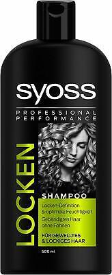 Syoss Locken Shampoo+ Spülung je 500ml Für Gewelltes & Lockiges Haar Anti Frizz