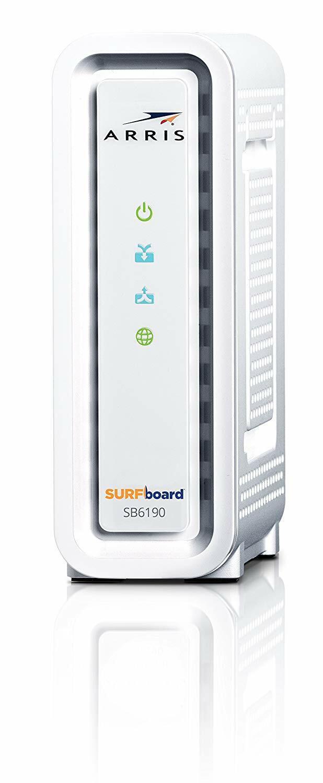 ARRIS Surfboard SB6190-RB DOCSIS 3.0 Cable Modem -  - White