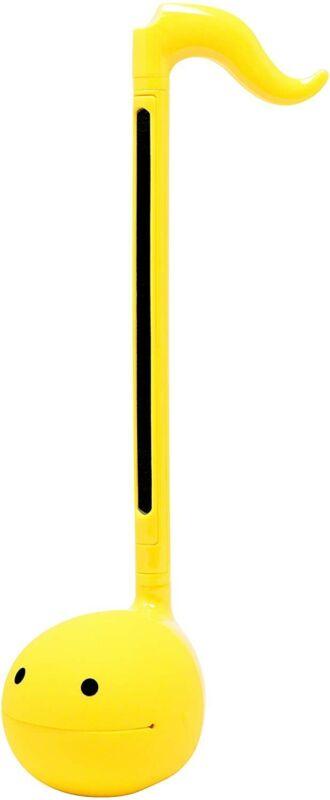 Yellow Otamatone Collars Touch Sensitive Musical Instrument Maywa Denki