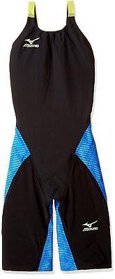 MIZUNO Swimsuit Women GX-SONIC III ST FINA Approval N2MG6201 Black Blue Size M