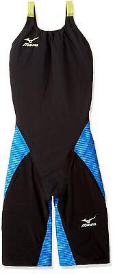 MIZUNO Swimsuit Women GX-SONIC III ST FINA Approval N2MG6201 Black Blue Size L