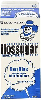 Cotton Candy Sugar Floss - Boo Blue - Blue Raspberry Gold Medal