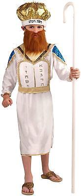 Purim Jewish Halloween (Moshe Purim Moses Jewish Religious Fancy Dress Up Halloween Child)