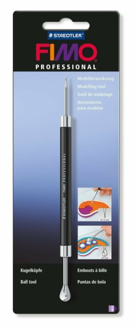 Werkzeug di MODELLIERUNG FIMO Modellierung TOOLS 8711 03 Tipps Kugel