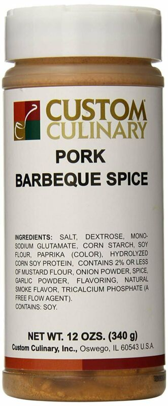 Custom Culinary Pork Barbeque Spice, 12 oz