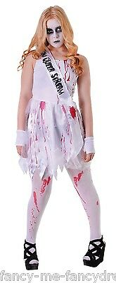 tig Prom Queen Halloween Kostüm Kleid Outfit Einheitsgröße (Prom-queen Halloween-kleid)