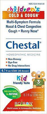 Boiron Children's Chestal Multi-Symptom Formula Cold & Cough Syrup Exp. (Formula Cough Syrup)