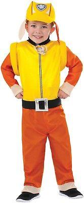 Jungen-Gelb Schutt Paw Patrol Hund Cartoon + Rucksack Kostüm Kleid Outfit