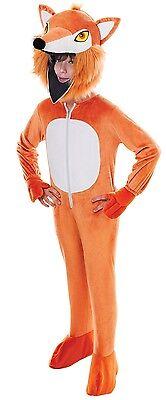 Mädchen Jungen Fantastisch Braun Fox Maskottchen Buch Tag Woche Verkleidung ()