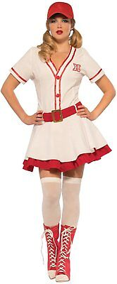 Baseball Sweetie Womens Costume A League Of Their Own Movie Dress Dottie Peaches