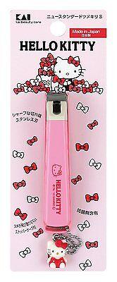 KAI Nail Clippers Hello Kitty Japan New Standard Nipper S KK-2511