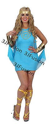 Ladies Grecian Aphrodite Greek Goddess Princess Fancy Dress FREE POST - Grecian Fancy Dress Kostüm