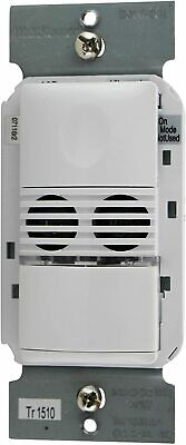 Wattstopper Dsw-301-w Dual Tech Wall Switch Sensor 120277vac White