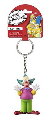 The Simpsons Krusty the Clown PVC Figural Keychain - Krusty The Clown