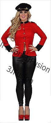 Ladies Womens Cheryl Cole X-Factor Pop Soldier Fancy Dress FREE HAT & POST (Au Kostüme)