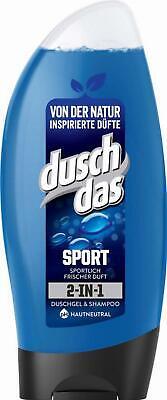 Duschdas Sport Duschgel for Men, 6er Pack (6 x 250 ml)