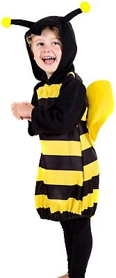 Baby Toddler Boys Girls Bumble Bee Insect Animal Fun Fancy Dress Costume Outfit ](Bumble Bee Halloween Costume Toddler Boy)