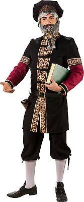 Herren Mittelalterlich Student Historisch Gentleman Kostüm Kleid - Alte Gentleman Kostüm