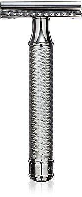 Disposable  men's Classic  Double Edge Chrome Shaving Safety Razor Shaver Blades (Disposable Razors Double Edge)