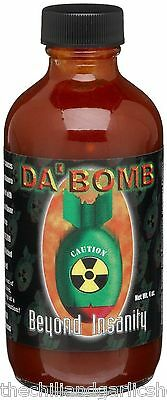 DA BOMB Beyond Insanity Hot Sauce