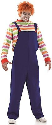 Mens Evil Dummy Dead Zombie Doll Halloween Fancy Dress Costume Outfit M-XL