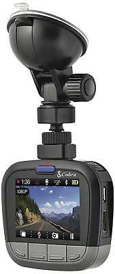 Cobra Full HD 1080p Dash Cam with Bluetooth Smart Enabled GPS - Refurbished
