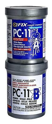 2 Part Marine Epoxy Adhesive Paste 1 Lb Bonds Dry Wet Underwater 2 Cans