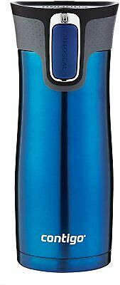 Contigo AUTOSEAL West Loop Vaccuum-Insulated Stainless Steel Travel Mug, 16