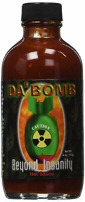 Da' Bomb Beyond Insanity - Hot Spicy Natural Chilli Sauce  *Brand New***