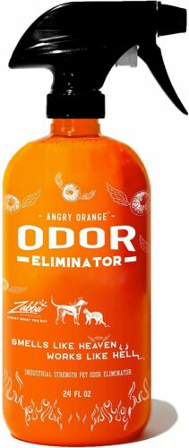 ANGRY ORANGE Ready-to-Use Citrus Pet Odor Eliminator Pet Spray - Urine Remover