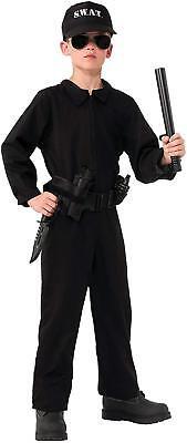 Special Ops Jumpsuit Police SWAT Military Halloween Child Costume MEDIUM - Swat Halloween Costume Kids
