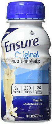 Ensure Complete Balanced Nutrition Homemade Vanilla Shake 6 pk - 8 -