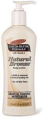Palmers Cocoa Butter Formula Natural Bronze Gradual Tanning Moisturiser 250ml