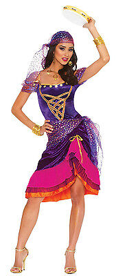 ADULT SEXY MAGICAL GYPSY TAROT FORTUNE TELLER PIRATE RENAISSANCE WOMEN COSTUME - Womens Gypsy Costumes