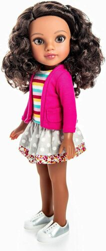 Hearts For Hearts Girls Nyesha from Brooklyn, New York 14-inch Doll