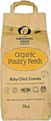 5kg - Allen & Page Organic Feed Company Baby Chick Crumbs - Chick Feed 6-8 weeks