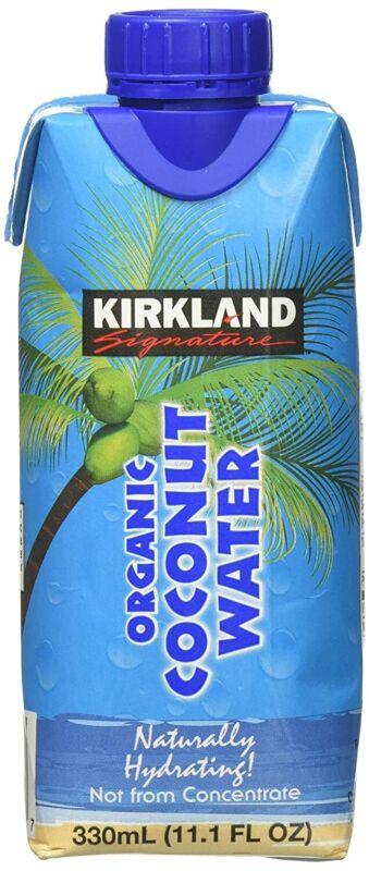 Kirkland Organic Coconut Water, 12 Count