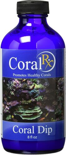 Coral RX Coral Dip 8oz Coral Pest Eradication Cleaning Free Ship Blue Ocean