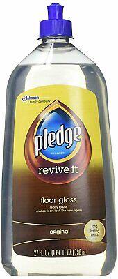 Pledge Floor Care Finish Gloss, 27 oz
