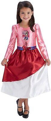 Girls Disney Princess Mulan Chinese Book Day Week Fancy Dress Costume - Mulan Kostüm Kind