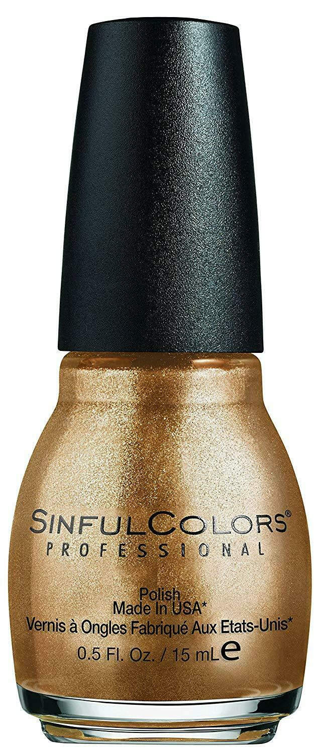 Sinful Colors Profession Nail Lacquer - Gold Medal 1397 - 15ml